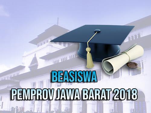 Beasiswa Pemprov Jabar 2018