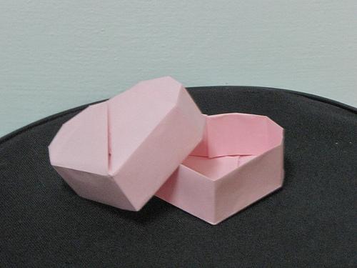 Caja En Forma De Corazon El Arte Del Origami - Origami-corazn