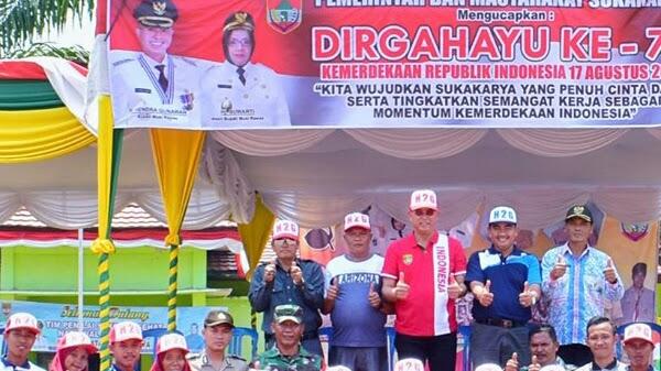 Bupati Musi Rawas Lakukan Pengecekan dan Penilaian Paskibraka di 4 Kecamatan