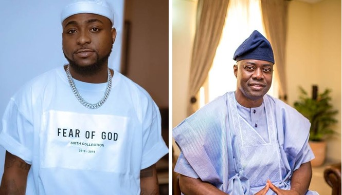 Seyi Makinde is the best governor in Nigeria – Davido declares