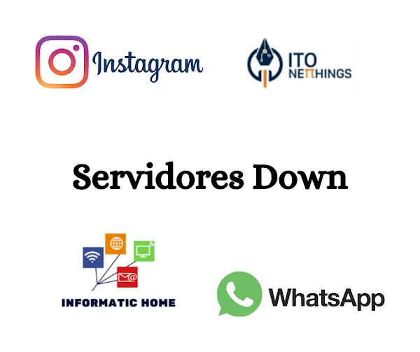Devido a ataques nos servidores WhatsApp e Instagram tiveram down!!!