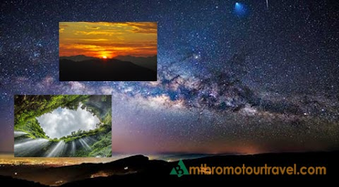 Bromo Milky Way, Sunrise and Waterfall Tour Package