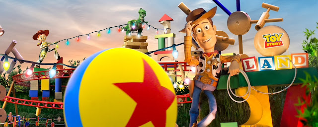 Toy Story Land Follow the Ball Promotion