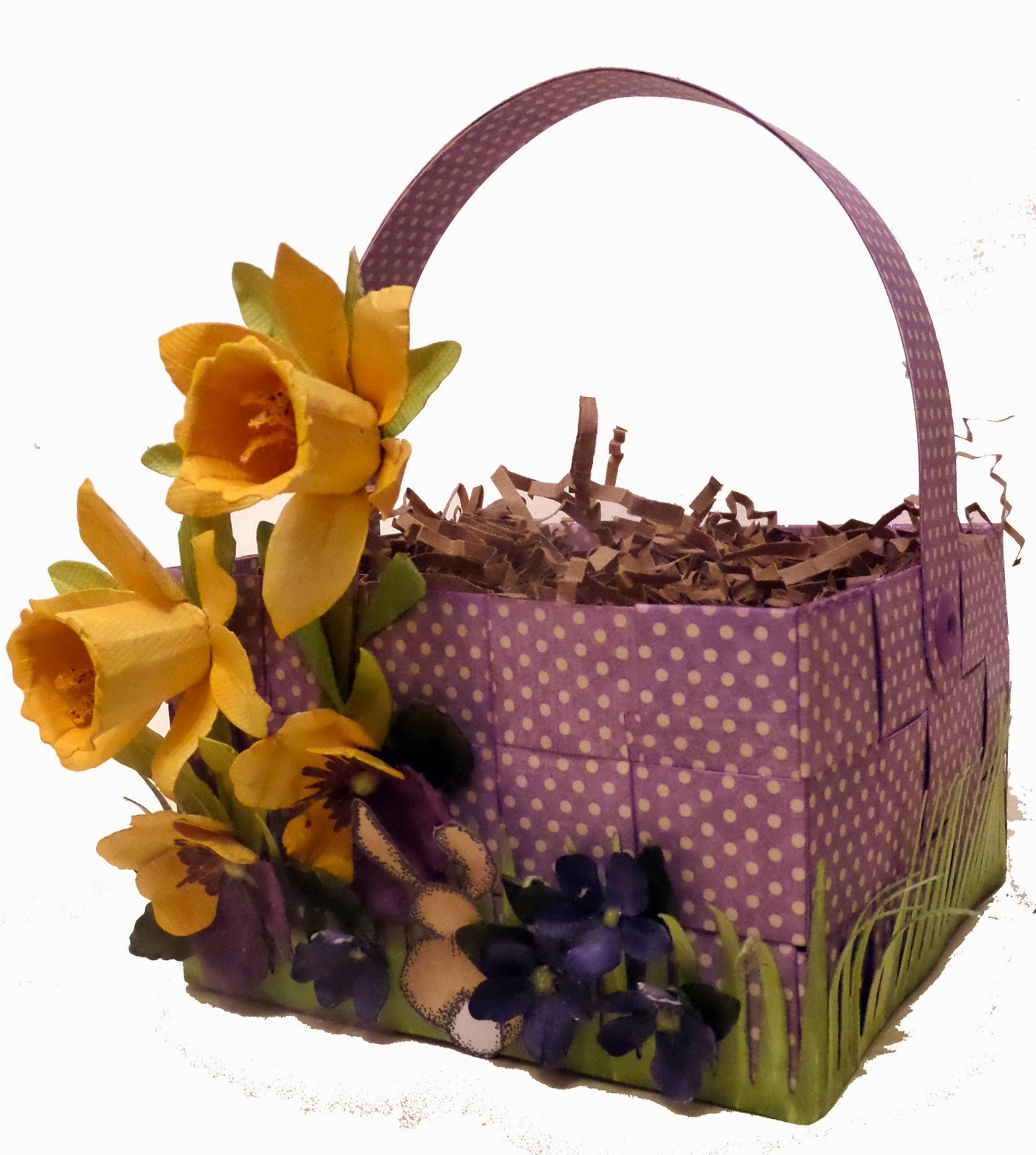 Secret Garden Easter Basket by Clare Charvill Graphic 45