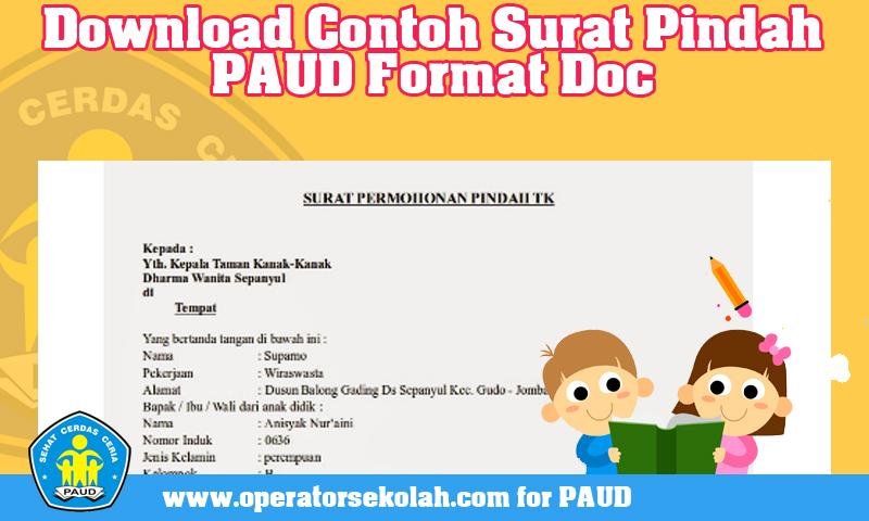Download Contoh Surat Pindah PAUD Format Doc.jpg