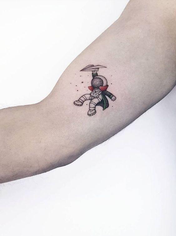 Tatuagem Masculina Pequena