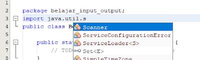 input java dengan util scanner