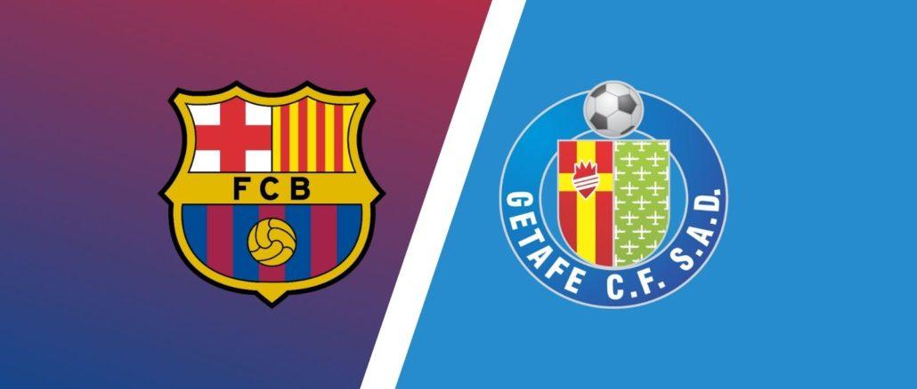 مشاهدة مباراة برشلونة ضد خيتافي 22-04-2021 بث مباشر في الدوري الاسباني