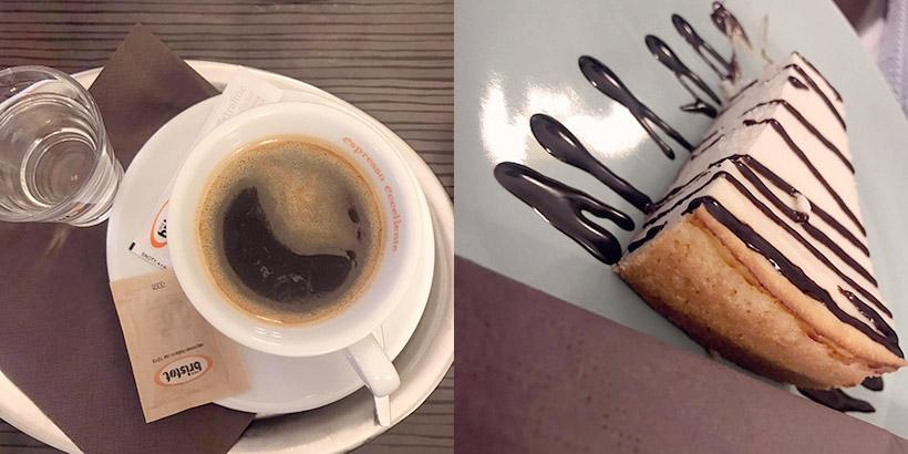 cheese cake coffee, cat cafe bratislava