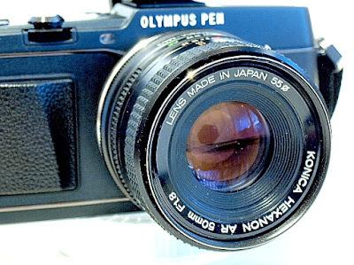 Olympus Pen E-5, Konica Hexanon AR 50mm f/1.8
