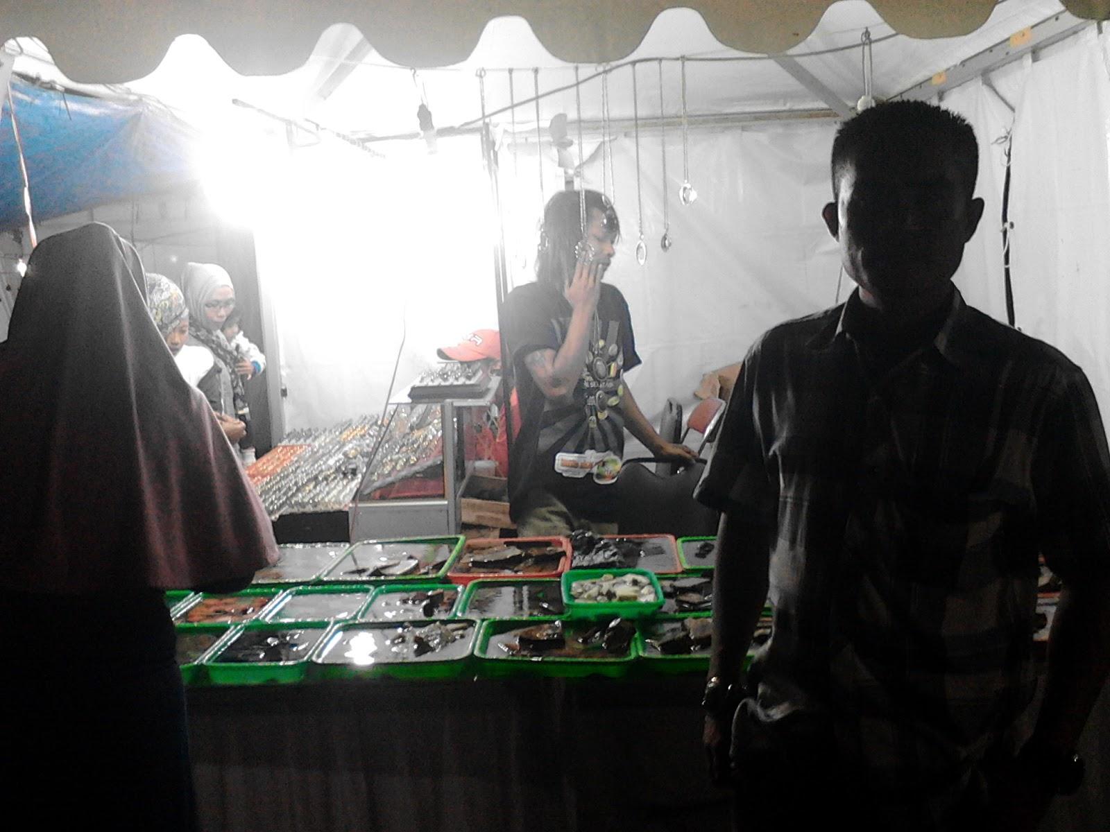 Kontes batu akik Solok Selatan 2015