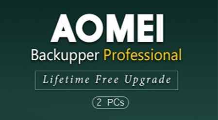 Aomei Backupper Professional discount coupon code