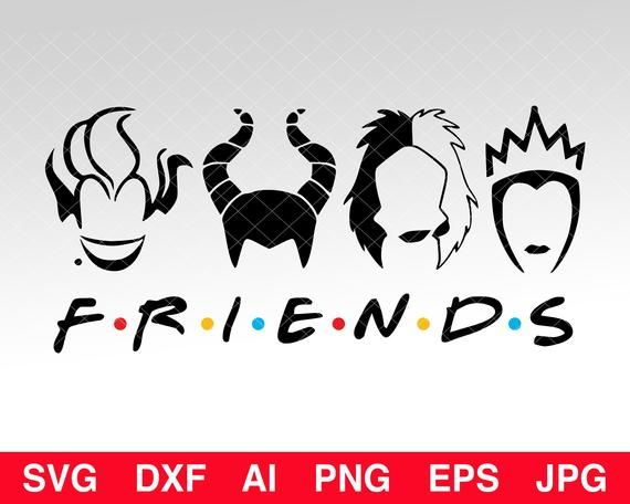 Free Halloween Friends SVG