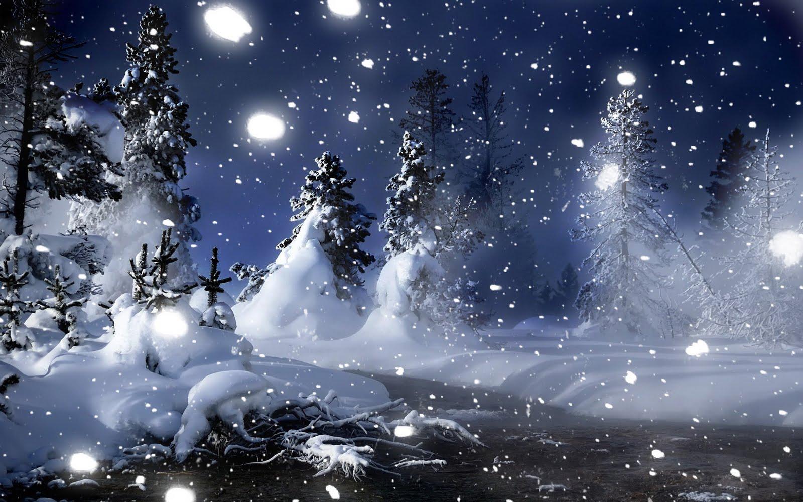 Kinkade Village Christmas Card