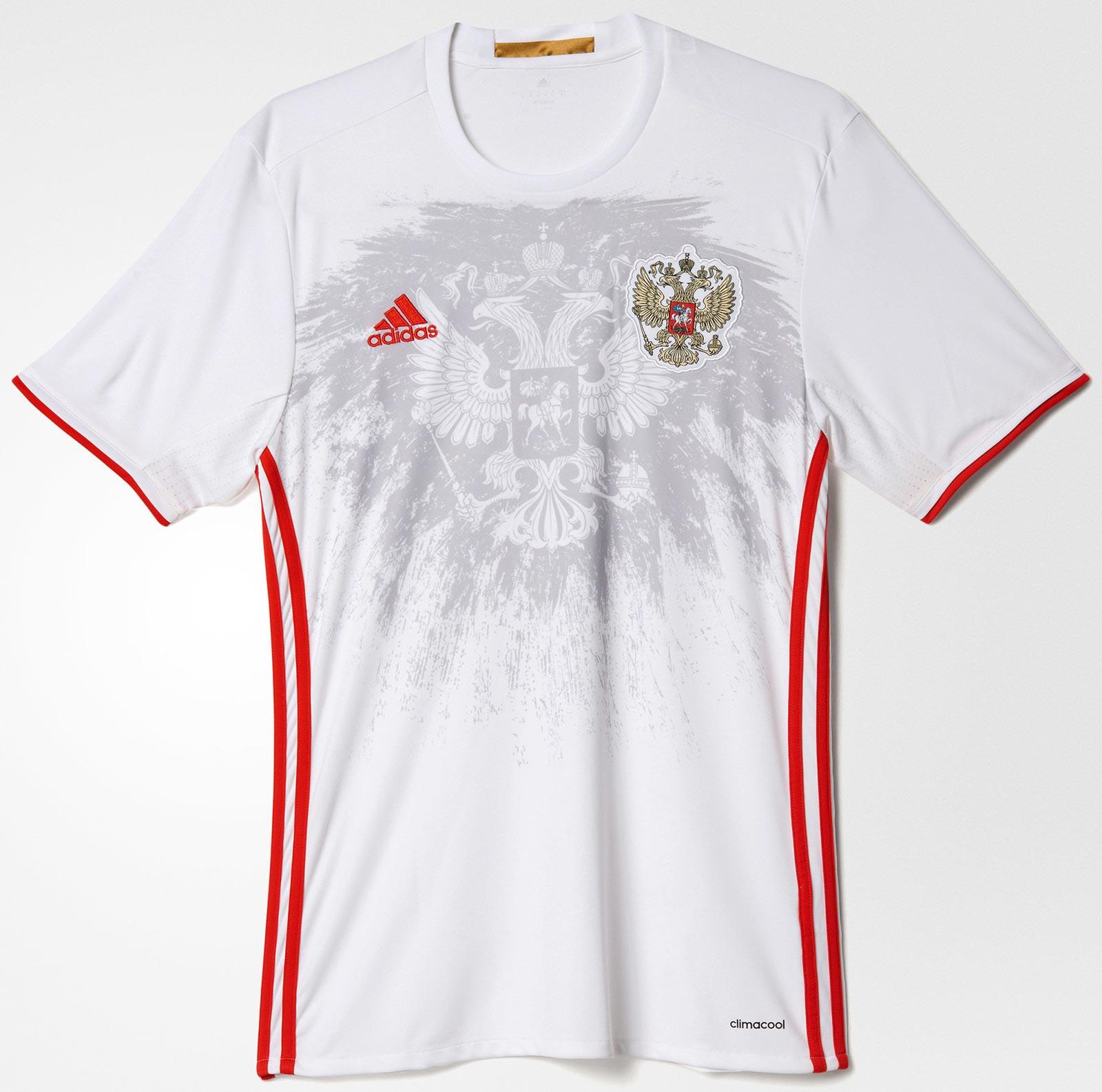 Adidas divulga nova camisa reserva da Rússia - Show de Camisas 32484a186b5e6