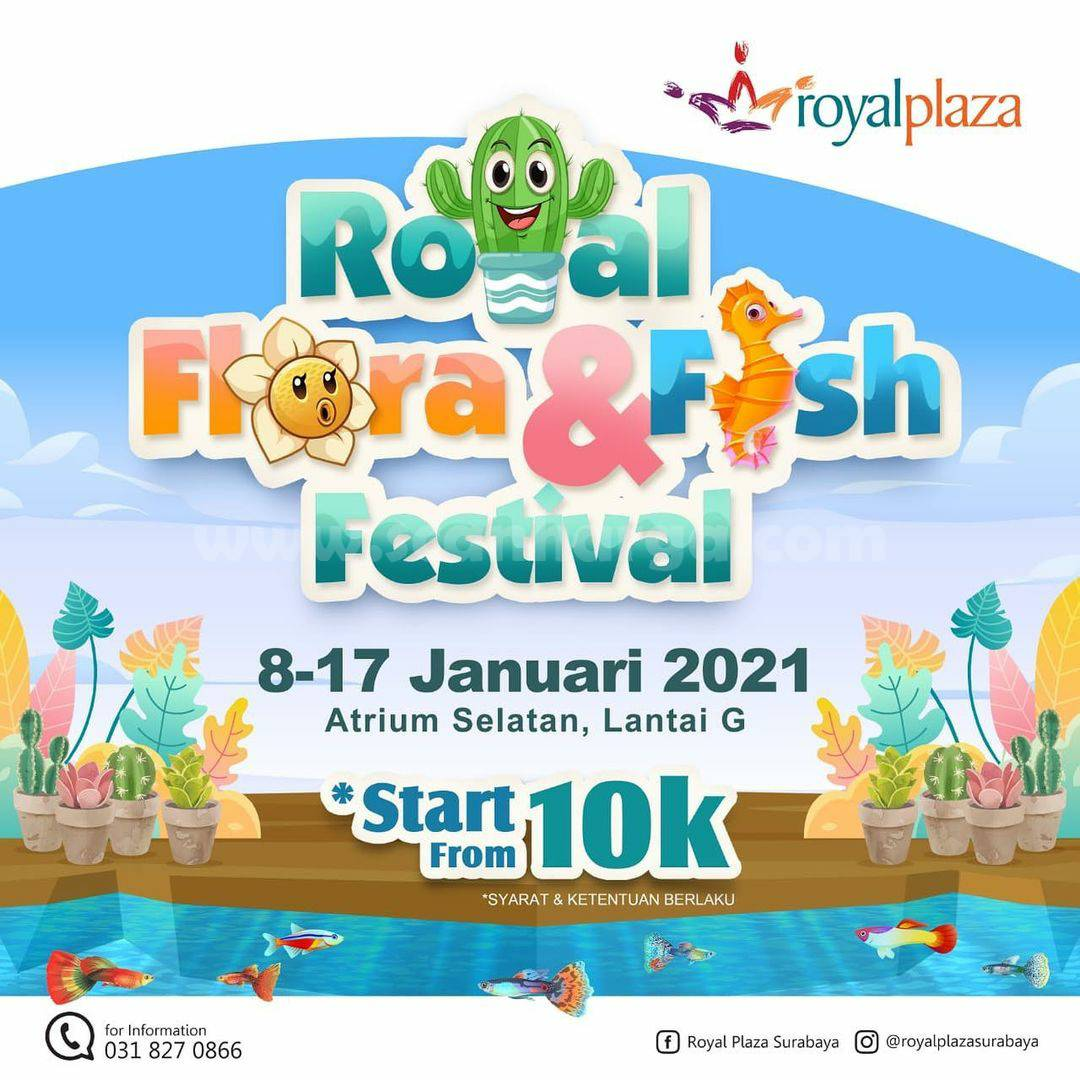 Royal Plaza Surabaya Present Royal Flora & Fish Festival
