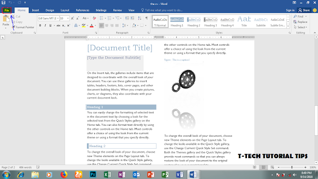 How to convert a word document to pdf without any software
