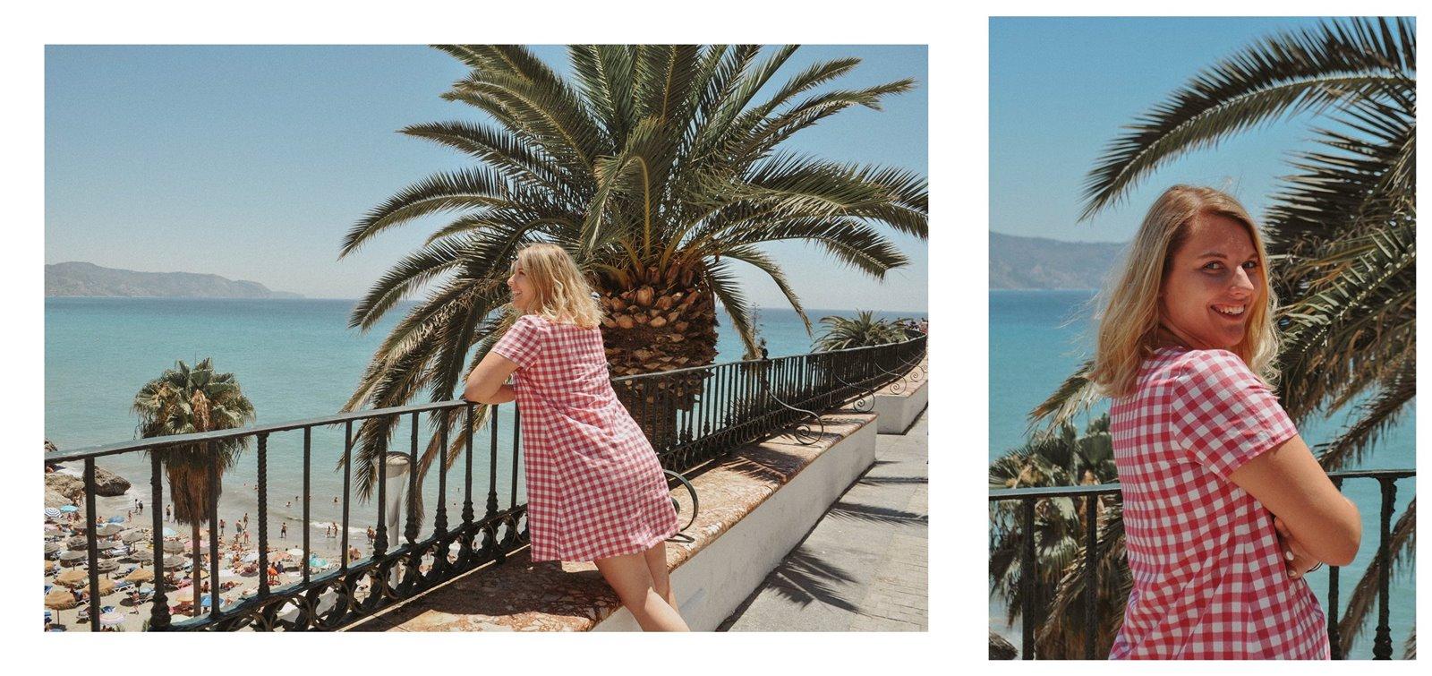4a sukienka dziewczęca krata ubrania dla mam i córek krata różowa sukienka trapez 100% handmade polskie marki wspieram polskie nosze blog modowy melodylaniella fashion beauty style łódź inspiracje hiszpania w co się ubra