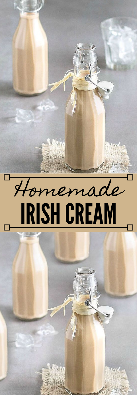 HOMEMADE BAILEYS IRISH CREAM #homemade #irish #chocolate #cream #easy