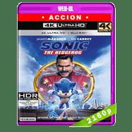 Sonic, la película (2020) HDR WEB-DL 2160p Latino