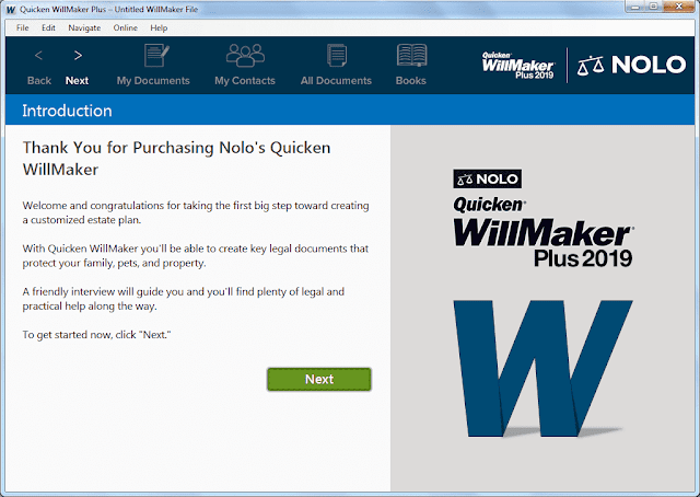 Screenshot Quicken WillMaker Plus 2019 v19.9.2444 Full Version