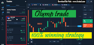Profit $ 1000 using FXXTOOL by using flatporm olymtrade in 1 minute