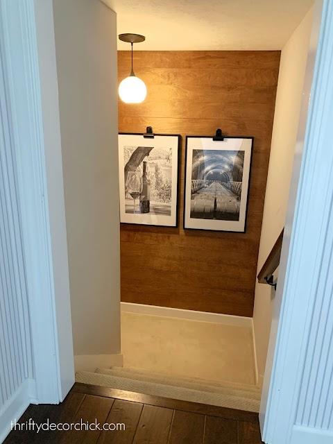 easy inexpensive wood wall horizontal