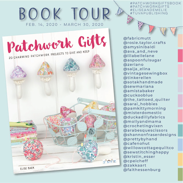Patchwork Gifts Book Tour | Shannon Fraser Designs #patchworkgiftsbook #quiltingbook