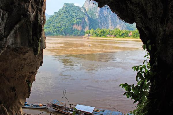 Pak Ou Caves In Luang Prabang