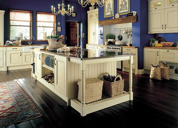 Eye For Design Blue And White Kitchens Clic Trendy