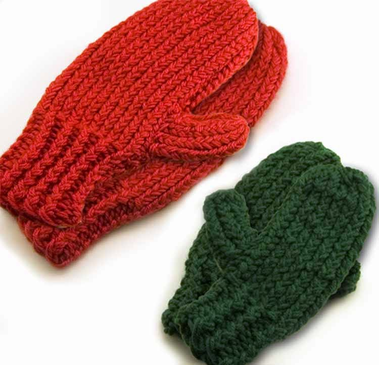 Knifty Knitter Mittens