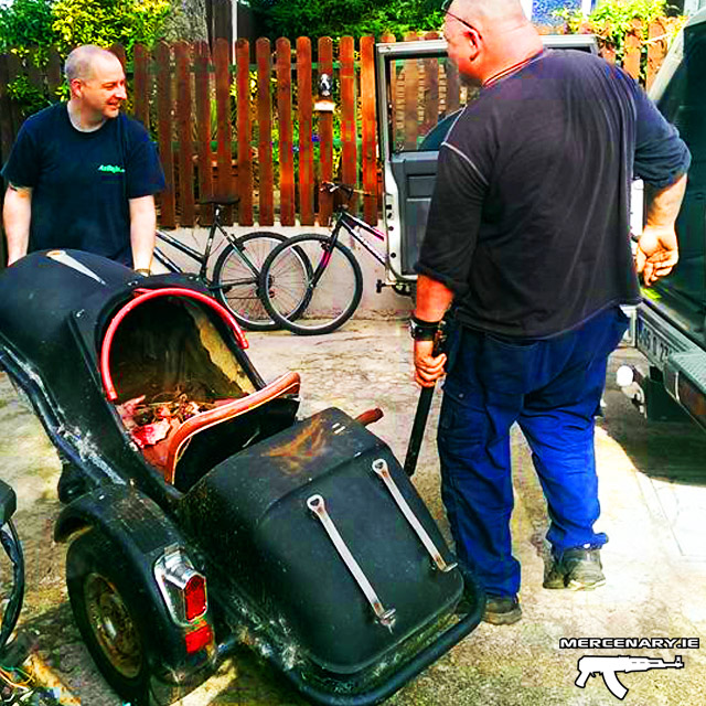Mercenary Garage XS850 Sidecar Bobber Project