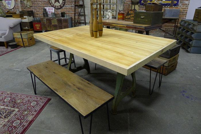 FOOD JUSTICE, LA: Wood JUSTICE: Reclaimed Wood Furniture on