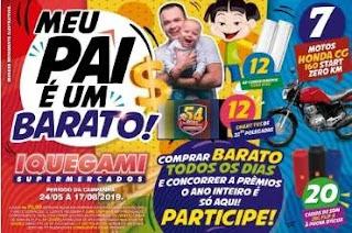 """Promoção Iquegami Supermercados Dia dos Pais 2019 """"Meu Pai é Um Barato"""""""