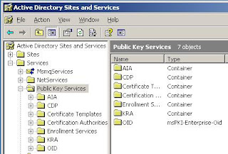 Active Directory Service Information