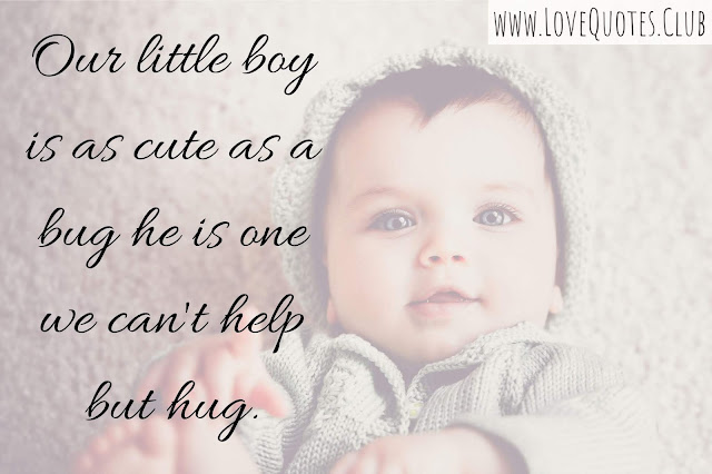 love quotes for a baby boy