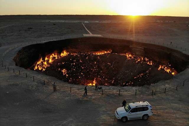 Kawah Api Darvaza, Turkmenistan