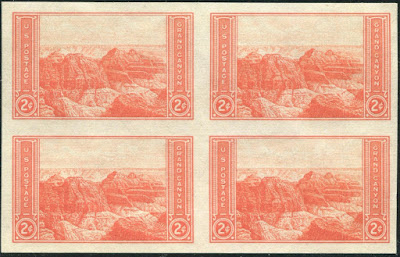 2¢ Grand Canyon block of 4