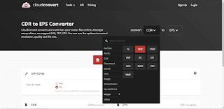Pilih Convert CDR to ESP