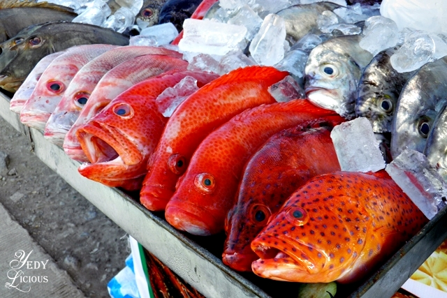 Fresh Seafood at City Baywalk Park Best Restaurants in Puerto Princesa Palawan Philippines YedyLicious Manila Food and Travel Blog