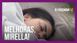 A Fazenda 12 – Luiza se preocupa com Mirella – Lucas critica atitude – Peões soltam a voz