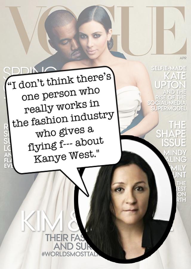 Kelly Cutrone Kanye West