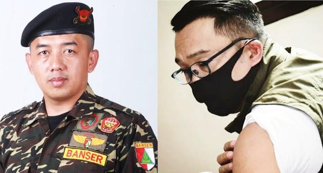 Banser Jabar Pasang Badan Lindungi Mahfud MD: Aya Aya Wae!
