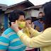 Relawan CEP Bagikan Masker Berlogo Partai Golkar Di Tomohon