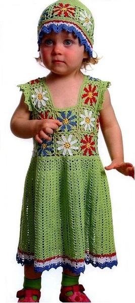 Hermoso vestido de niñita