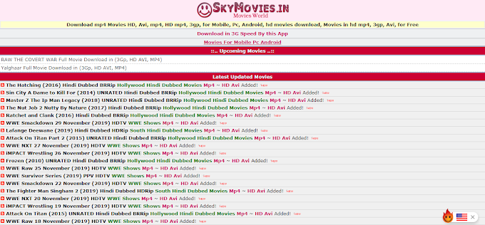Skymovies Download HD Hollywood and Bollywood Movies