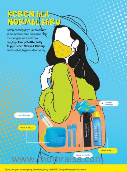 Katalog Tupperware Bulan Juli 2020