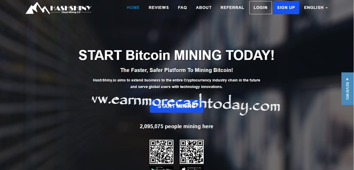 Hashshiny Cloud Mining Review Is Hashshiny Scam Or Legit