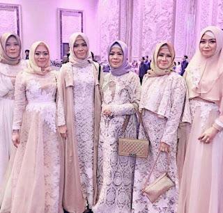 Model Baju Gamis Lebaran 2019 Untuk Tampil Anggun dan Elegan