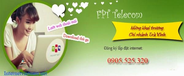 Đăng Ký Internet FPT Huyện Càng Long, Trà Vinh